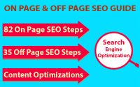 On Page & Off Page SEO Optimization Guide