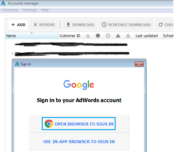 Google Adwords Editor Tool for PPC Advertising